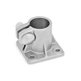 GN 163.5 Stainless Steel, Base Plate Connector Clamps Type: B - with sealing