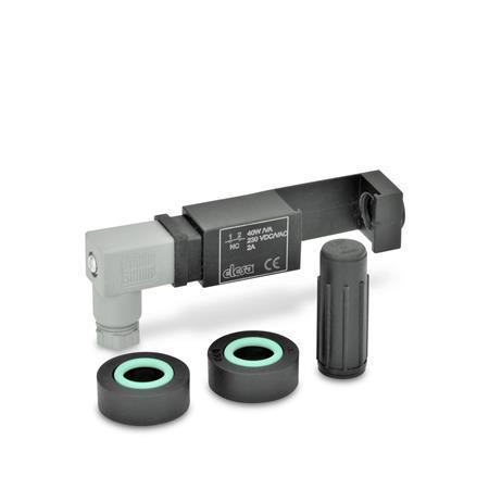 EN 654.2 Juegos de montaje para el control eléctrico del nivel de aceite Tipo: NC - 1 conmutador con un contacto «normalmente cerrado»