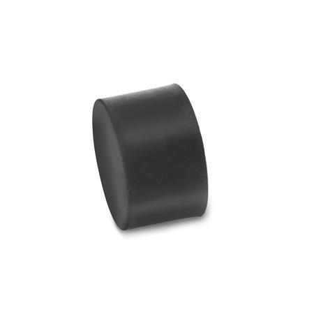 GN 352 Soportes de absorción de vibración/impacto, de tipo cilíndrico, con componentes de acero Tipo: E - Con rosca hembra