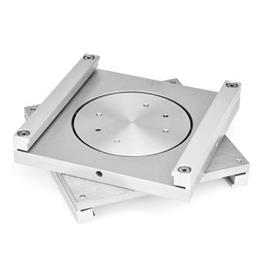 GN 900.5 Aluminum, Rotary Plates