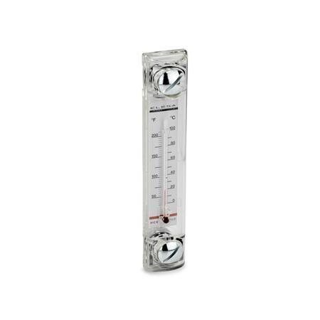 EN 650 Indicadores de nivel de líquidos de columna de plástico  Tipo: B - con termómetro