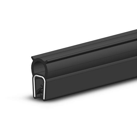 GN 2180 Edge protection seal profiles, Material NBR / EPDM (UL-certified) Type: A - Upper seal profile