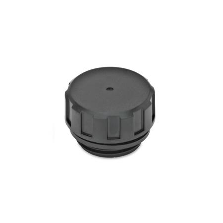 EN 548.1 Technopolymer Plastic Fluid Plugs, with or without Dipstick  Type: A - Without dipstick