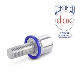 GN 1580 Hygienic Design Screws Finish: PL - Polished finish (Ra < 0.8 µm)