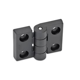 EN 157 Technopolymer Plastic Hinges