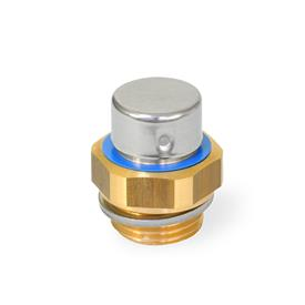 GN 882 Brass Breather Filters