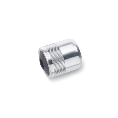 GN 714 Press-Fit Side Thrust Pins Aluminum, Tapped Type