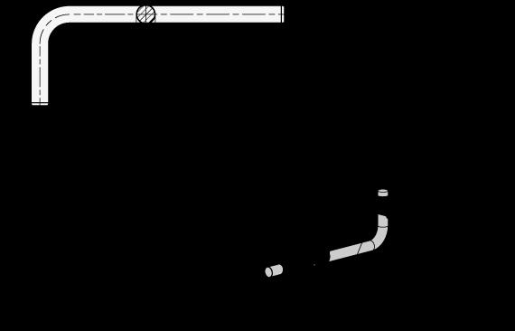 GN 480.3 Varillas de ajuste de acero inoxidable, en ángulo boceto