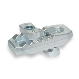 NO. 6312 V Steel, Crocodile Clamps, with Adjustable Holder