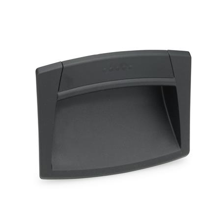 EN 731 Technopolymer Plastic Ergostyle® Gripping Trays, Clip-In Type Color: SG - Black-gray, RAL 7021, matte finish
