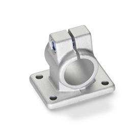 GN 146 Abrazaderas para conectores con bridas de aluminio