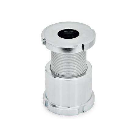 GN 350 Steel Leveling Sets, Long Model Material: ST - Steel Type: A - Without lock nut