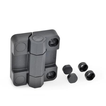 EN 239.7 Plastic Hinges without Safety Switch, To Accompany EN 239.6 Hinges with Safety Switch Test<sub>1</sub>: 70