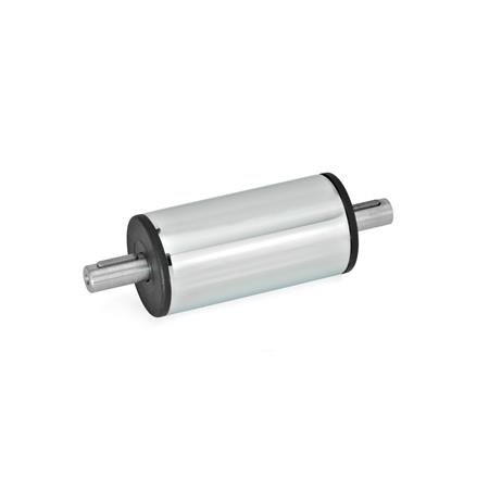 GN 391 Steel, Stainless Steel, Drive / Transfer units Material: SCR - Steel, chrome-plated finish