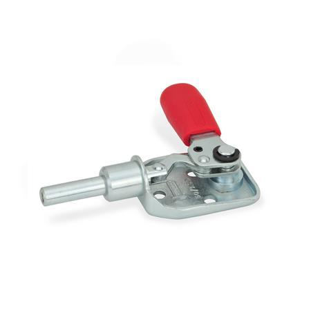 25000 Newton Holding Capacity Metric Size JW Winco Series GN 842 Steel Heavy Duty Push-Pull Type Toggle Clamp Clamp Size 2100