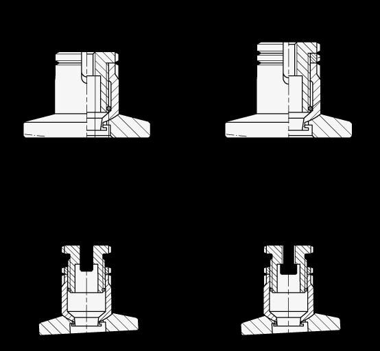 GN 360 Juegos de nivelación de acero inoxidable boceto