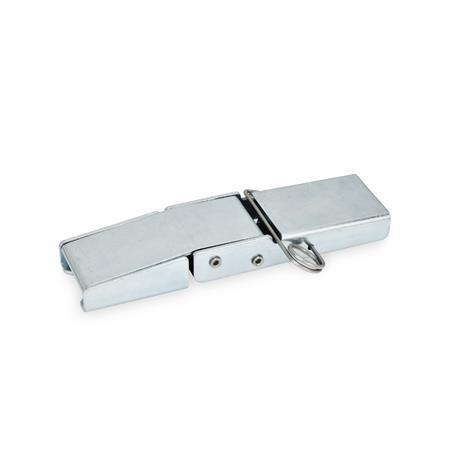GN 8330 Pestillos de palanca de acero Tipo: B - Con pasador de muelle