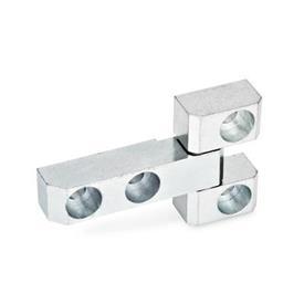 GN 129.3 Bisagras de acero, constan de tres partes Test<sub>1</sub>: 91