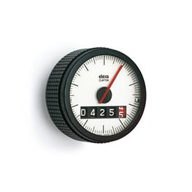 EN 5343 Technopolymer Plastic Knurled Control Knobs with Position Indicator, Gravity Drive with Digital / Analog Display