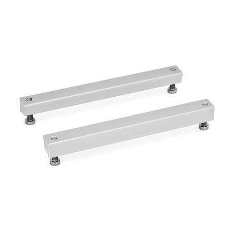 GN 900.1 Aluminum, Fastening Units Type: B - with threaded bore d2