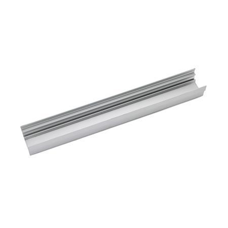 EN 646.3 Perfiles de rieles transportadores de aluminio para carriles de rodillos y bolas para transportador Tipo: A - Sin orificios de fijación
