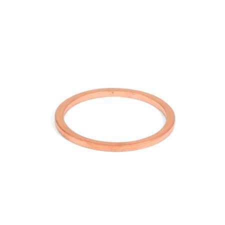 DIN 7603 Arandelas de sellado, de cobre / aluminio, para tapones roscados DN 908 Material: CU - Cobre
