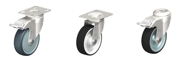Stainless Steel Bracket Casters