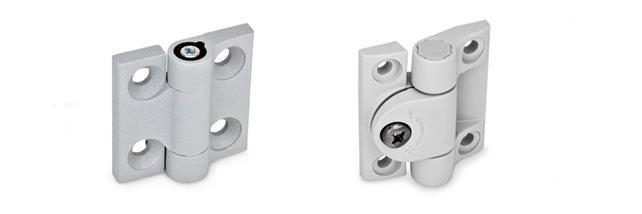Hinges with Friction Adjustment