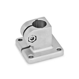 GN 162 Stainless Steel, Base Plate Connector Clamps