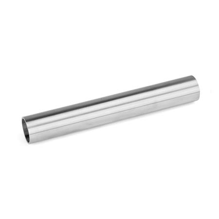 GN 990 Stainless Steel Construction Tubes, Round or Square, for Connector Clamps d<sub>1</sub> / s<sub>1</sub>: D