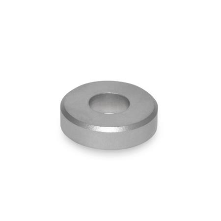 GN 6341 Stainless Steel Washers Type: A - With cylindrical bore