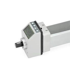 GN 296 Juegos de instalación, para indicadores de posición usados en actuadores lineales cuadrados GN 291.1 Identificación núm.: 2 - Para indicadores de posición electrónicos EN 9053 / EN 9054