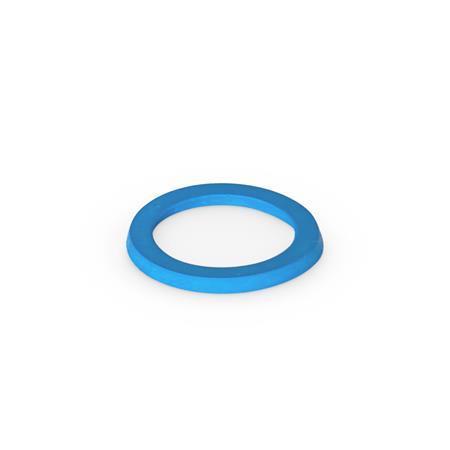 GN 7600 Sealing Rings, Hygienic Design Material: EPDM - Ethylene propylene diene rubber