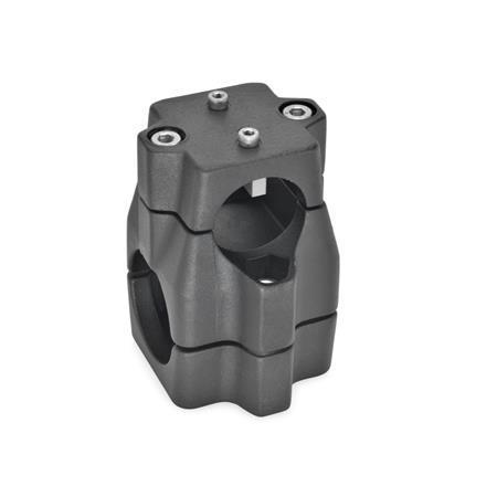 GN 135.1 Aluminum Linear Actuator Connectors, Split Assembly Bildzuordnung<sub>1</sub>: B Bildzuordnung<sub>2</sub>: B