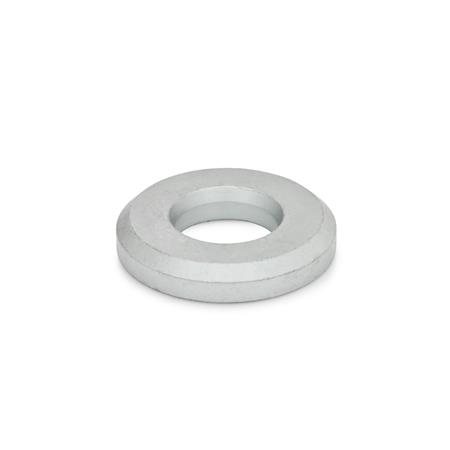 GN 6339 Steel Heavy Duty Washers, High Type Finish: GO - GEOMET 500 coating