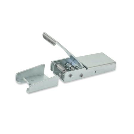 GN 8330 Pestillos de palanca de acero Tipo: A - Sin pasador de muelle